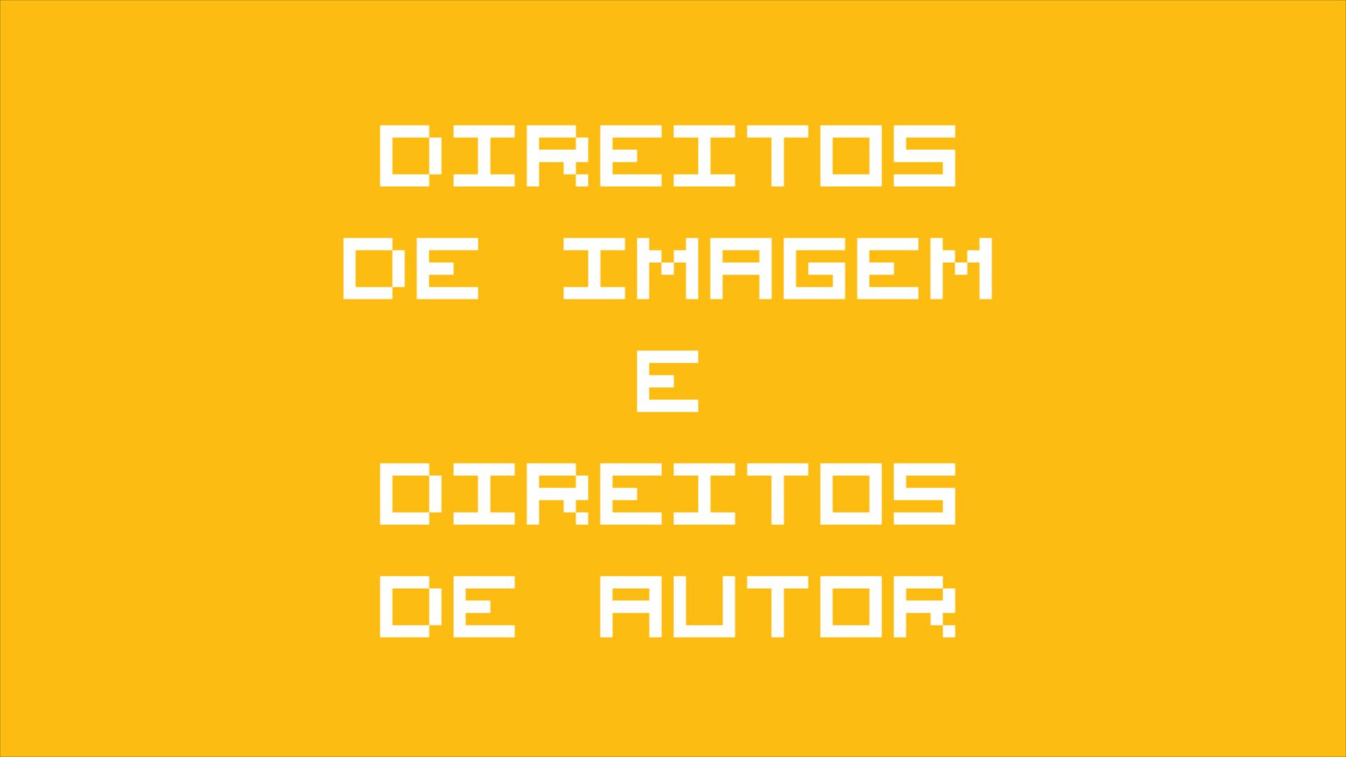 Direitos de Imagem, Direitos de Autor, Bytes de Informação