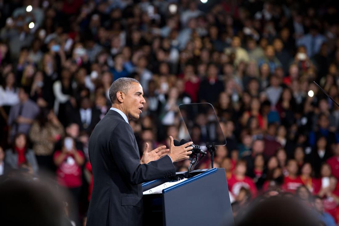 Crowdfunding Obama