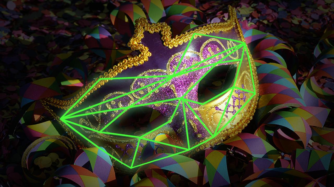 reconhecimento facial no carnaval
